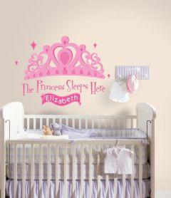 RoomMates Wandsticker - Princess sleeps here