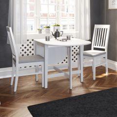 Gateleg table VENICE 429 - Gateleg table - EXTRA WHITE