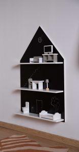 Schreibtafel Haus - Wandregal