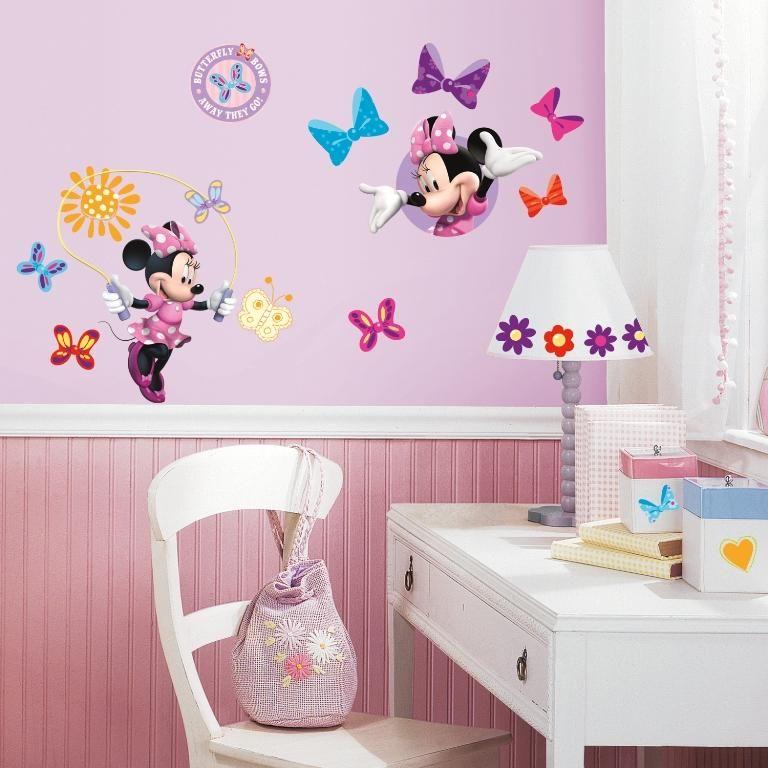 RoomMates Wandtattoo - Minnie Maus multi