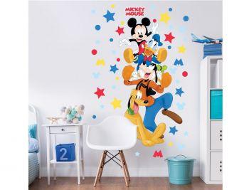 XL Wandaufkleber Mickey Maus & Freunde