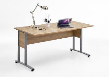 Schreibtisch Gabi 160 cm - alte Eiche