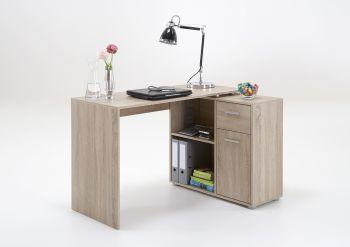Schreibtisch Albrecht - braune Eiche