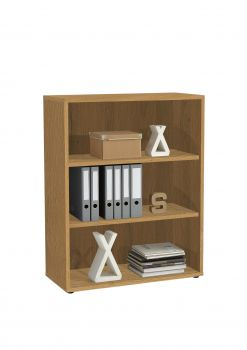 Bücherregal Gabi 3 Fächer breit - Eiche alt
