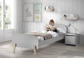 Kinderbett Kiddy - grau