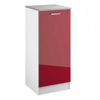 Küchenschrank Eli 60x141 mit Tür - rot