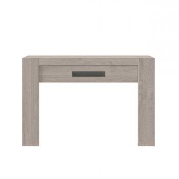 BOSTON - Console 1 tiroir Chêne gris clair