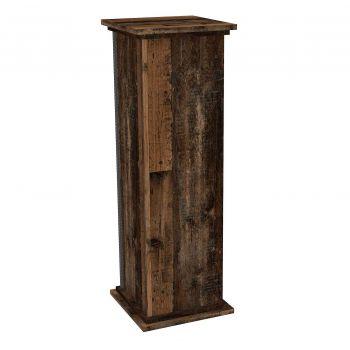 Sockel Essex groß - verwittertes Holz