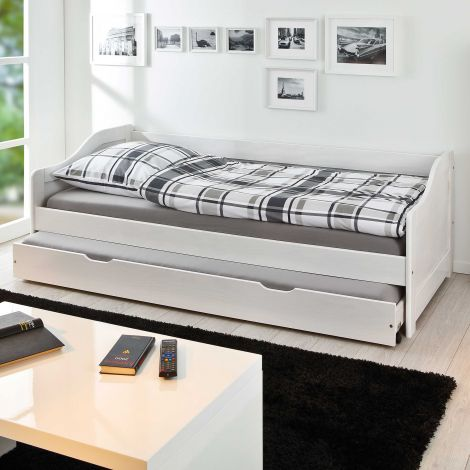 Kojenbett Sandra 90x190cm - white wash