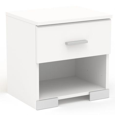 Nachttisch Galaxy 1 Schublade - weiß