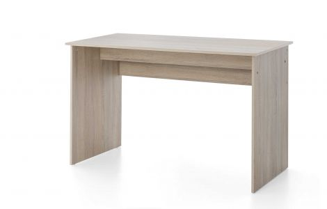 Serie Maxi-Office, Schreibtisch 125 x 60 cm - Beton Melamin Dekor
