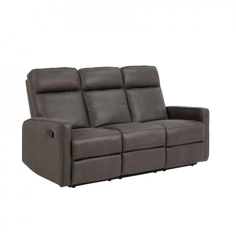 3-Sitzer Asif manuell verstellbar - grau