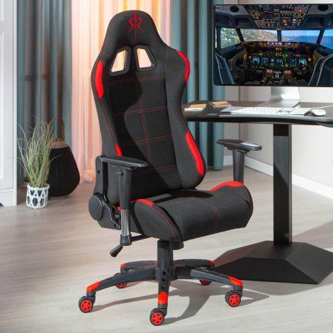 Gaming-Stuhl Frasso - schwarz/rot