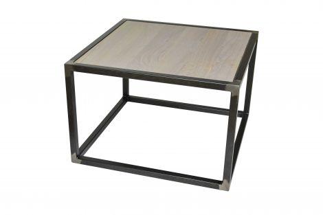 Wohnzimmertisch Diva 60x60x40cm - blacksmith