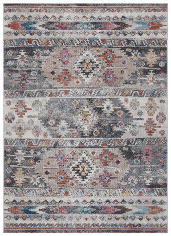 Teppich Maggio Horizontal 190x133 Silber