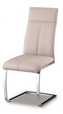 Set mit 2 Stühlen Elio - Cappuccino