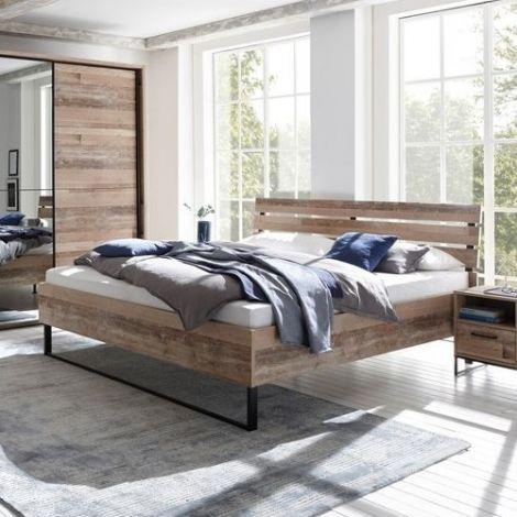 Bett Kemar 140x200 cm - alter Stil