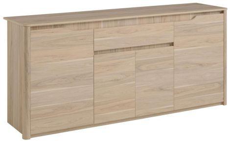 Sideboard Wendy 185cm 4 Türen 1 Schublade - Eiche