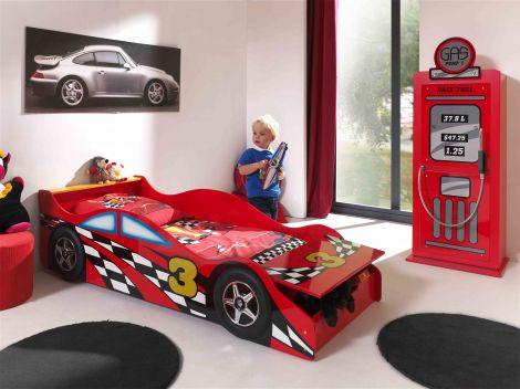 Autobett für Kinder (70 x 140 cm)