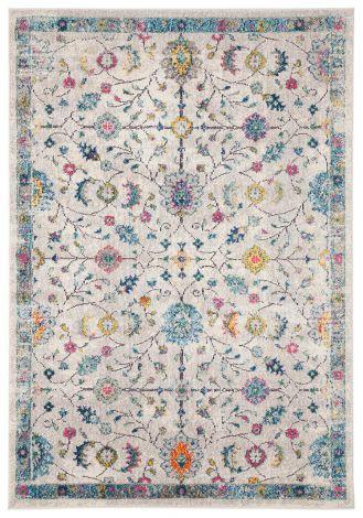 Teppich Mamoo A 190x133 Weiß/mehrfarbig