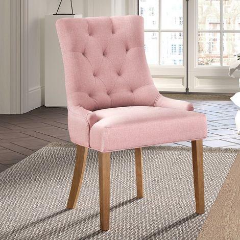 Satz von 2 Stühlen Anny - rosa