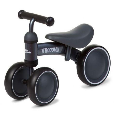 Balance-Bike Vroom aus Metall - grau