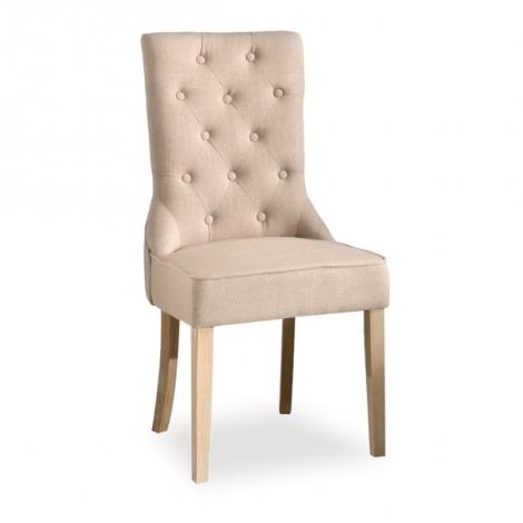 Satz von 2 Stühlen Hilary - sandfarben