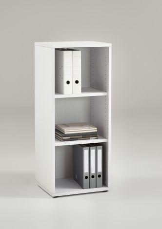 Bücherschrank Gabi - 3 Fächer schmal