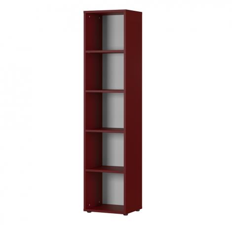 Bücherregal Osmond 45cm - rot
