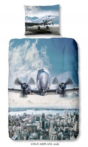 Bettbezug Flugzeug 140x220