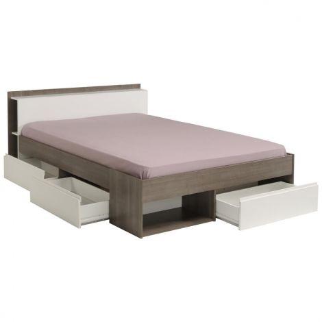 Bett Most 160x200 - grau