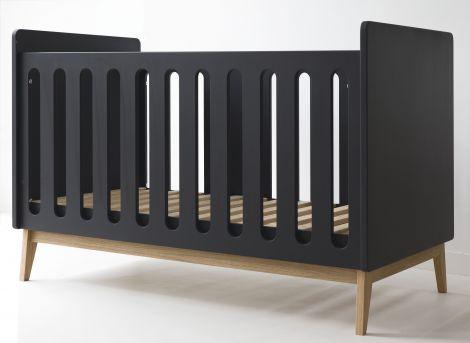 Kleinkindbett Pure 70x140 - schwarz
