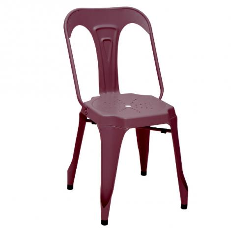 2er Set Stühle Industry - rot