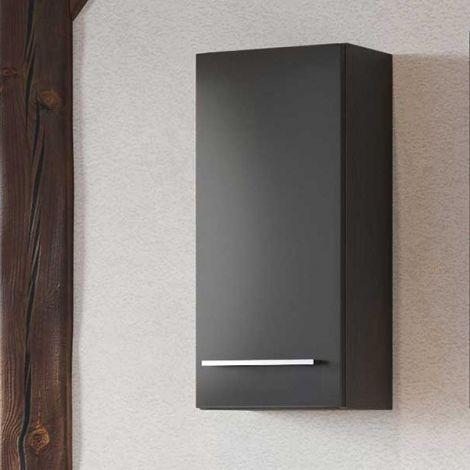 Hängeschrank Dasa 30cm 1 Tür - graphit/mattgrau