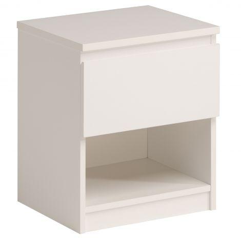 Nachttisch Neo 1 Schublade - weiß