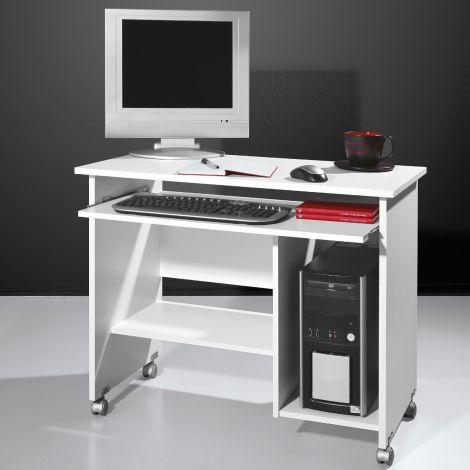 Norbert 90cm Schreibtisch - weiß