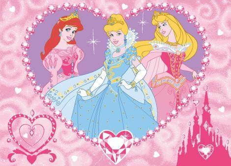 Teppich Disney Prinzessinnen - Diamonds