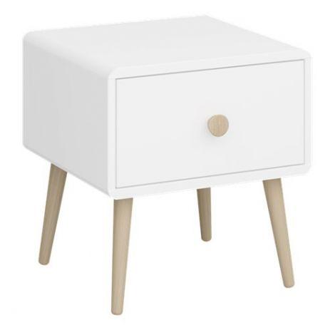 Nachttisch Gustaf 1 Schublade - weiß
