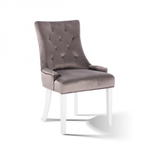 2er Set Esszimmerstühle Bristol - beige/weiß
