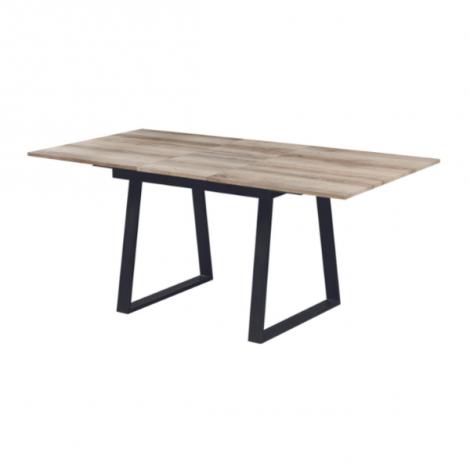 Ausziehbarer Tisch Austria 140/180x90 industriell - Eiche alt