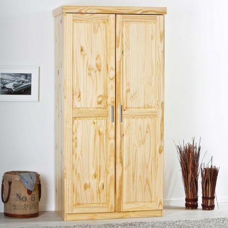 Kleiderschrank Leon 2 Türen - natur