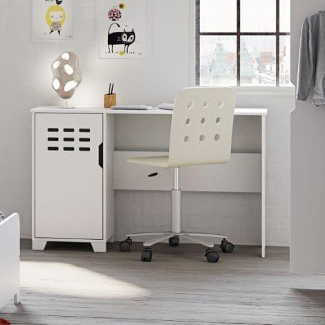 Schreibtisch Loki 125cm - weiß