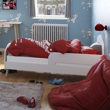 Kleinkindbett Gustaf 70x140 - weiß