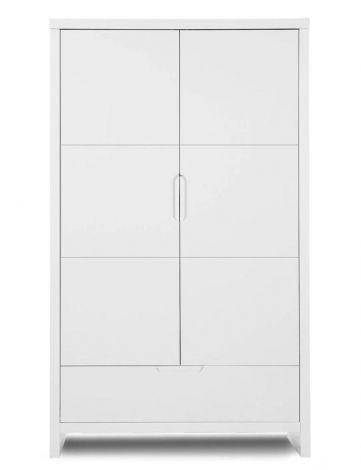 2-türiger Kleiderschrank Quadro White