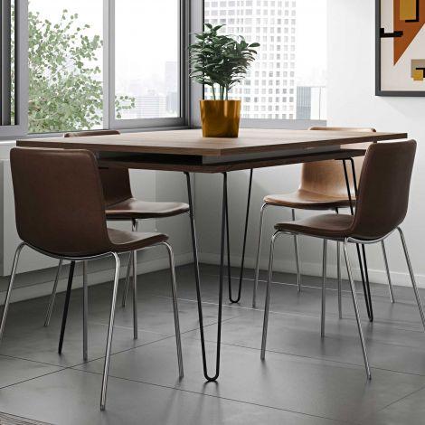 Ausziehbarer Tisch Jiro 134/174 - Nussbaum