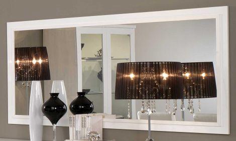 Spiegel Roma 180 cm - weiß