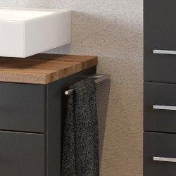 Dasa Handtuchhalter 40cm - Farbe Aluminium