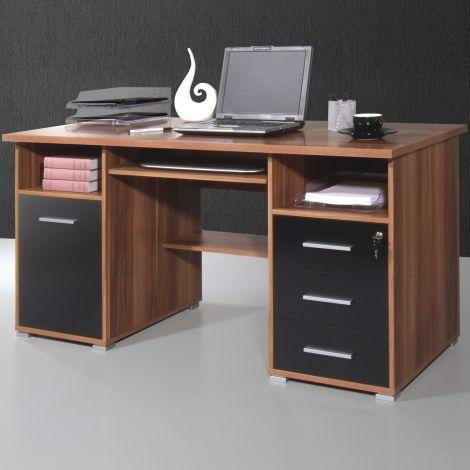 Schreibtisch Beagle 145cm - Walnuss