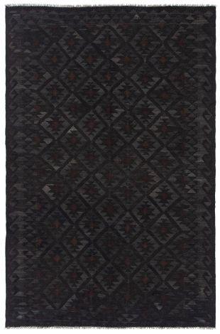 Teppich Kaudani 4 180x120 - Schwarz