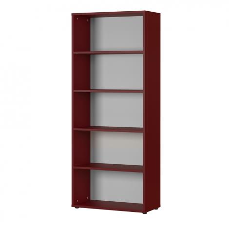 Bücherregal Osmond 80cm - rot